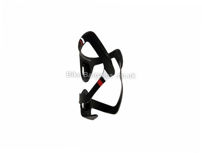 Tortec Scala Carbon Water Bottle Cage Black,Blue,Green,Red, 24g
