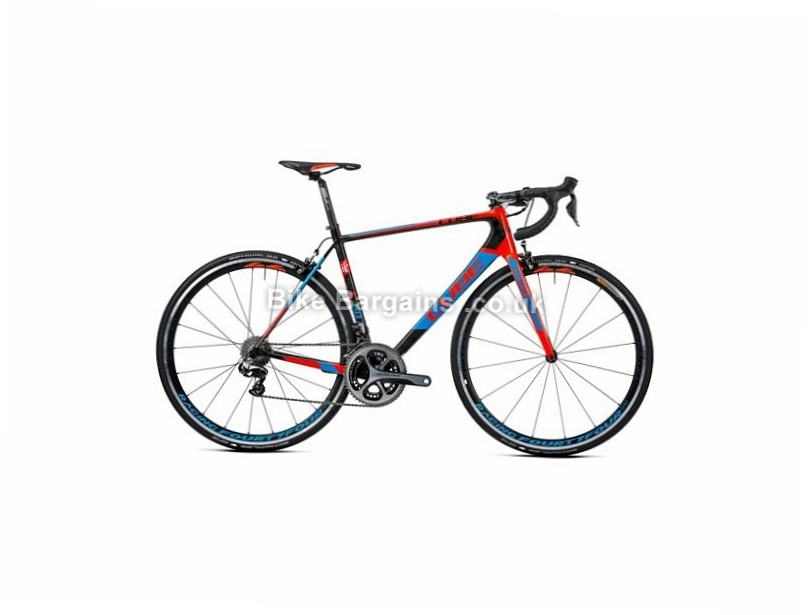 cube litening c 68 sl dura ace carbon road bike 2016 was sold for  u00a33000   58cm  black  blue  red