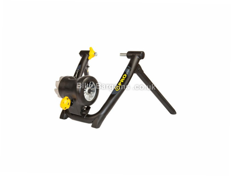 CycleOps Jet Fluid Pro Trainer Black, yellow