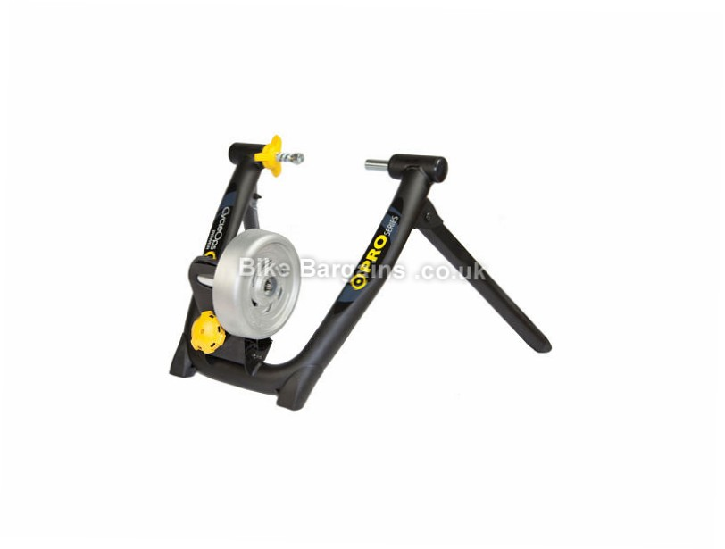 "Cycleops Powerbeam Pro Home Trainer Black, yellow, 26"" to 29"""