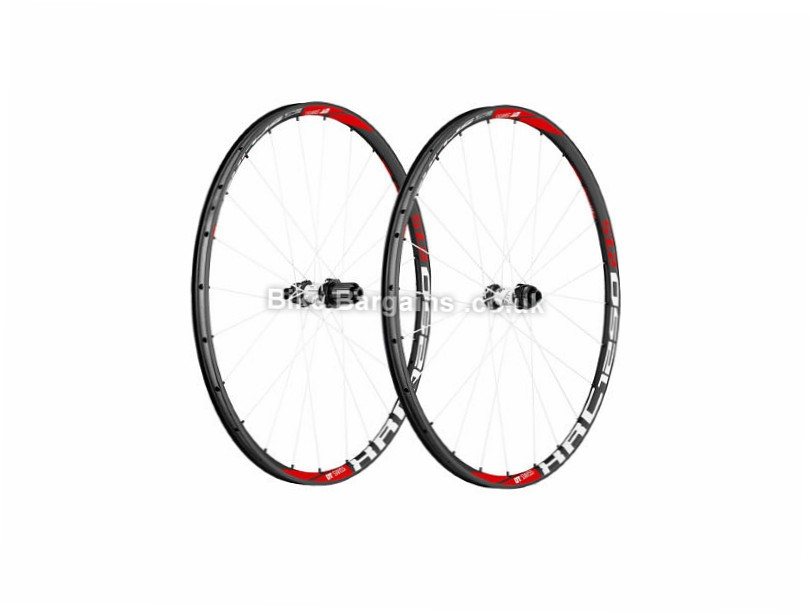 "DT Swiss XRC 1250 Spline Carbon 27.5 inch MTB Wheelset Grey, Red, 27.5"", 1375g"