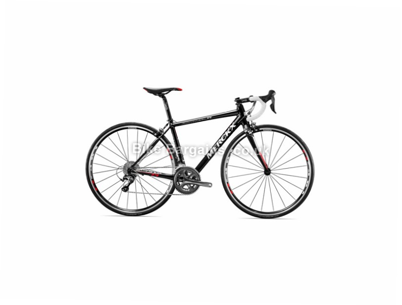 Eddy Merckx Montreal 74 Tiagra Ladies Alloy Road Bike 2016 Black, Silver, Red, 50cm, XS,S,L