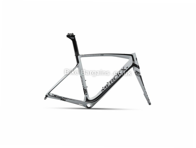 Eddy Merckx San Remo 76 Carbon Disc Road Cycling Frameset 2017 XS,M,L,XL, Black, Grey