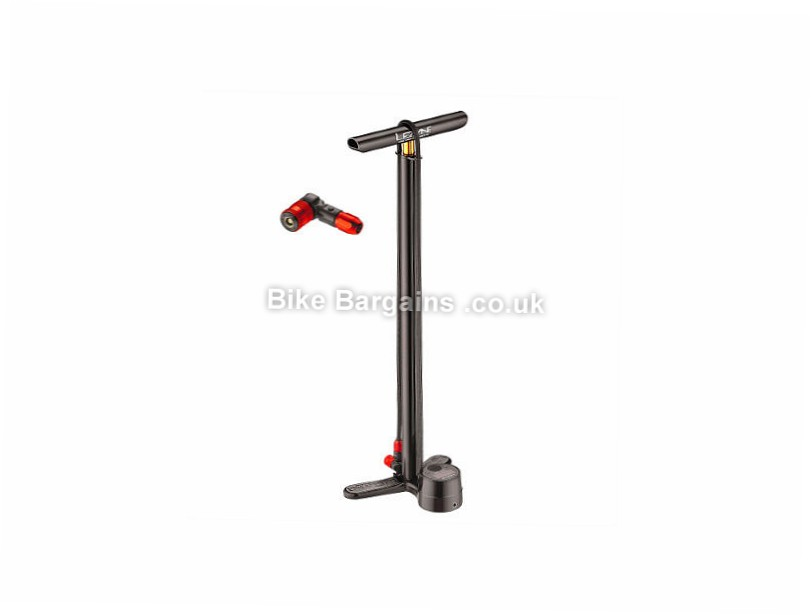 Lezyne Digital Drive ABS2 Track Pump Black, 220psi