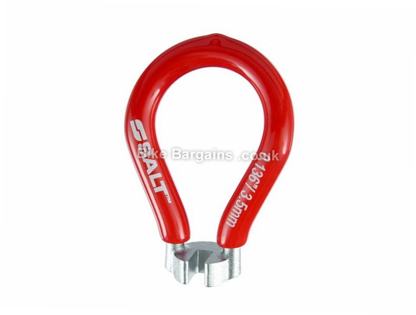 Salt Spoke Wrench Bike Tool 3.5mm, Red