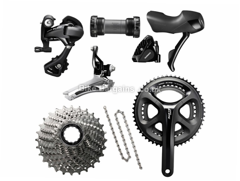 Shimano 105 5800 11 Speed Disc Brake Road Groupset 11 Speed, Road