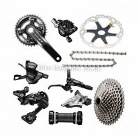 Shimano Deore XT M8000 11 Speed Double Chainring MTB Groupset