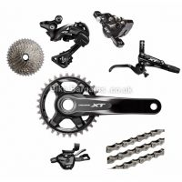 Shimano Deore XT M8000 11 Speed Single Chainring MTB Groupset