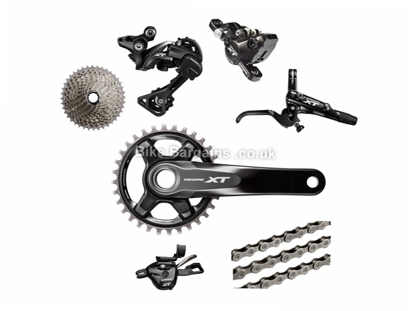 Shimano Deore XT M8000 11 Speed Single Chainring MTB Groupset 11 Speed, Single, MTB