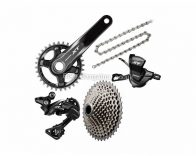 Shimano Deore XT M8000 11 Speed Single Chainring Drivetrain only MTB Groupset