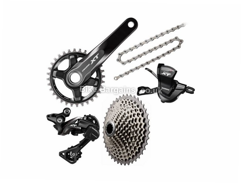 Shimano Deore XT M8000 11 Speed Single Chainring Drivetrain only MTB Groupset 11 Speed, Single, Drivetrain only, MTB
