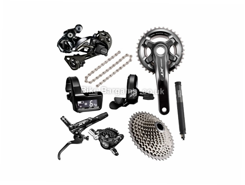 Shimano Deore XT M8050 Di2 11 Speed MTB Groupset 11 Speed, MTB