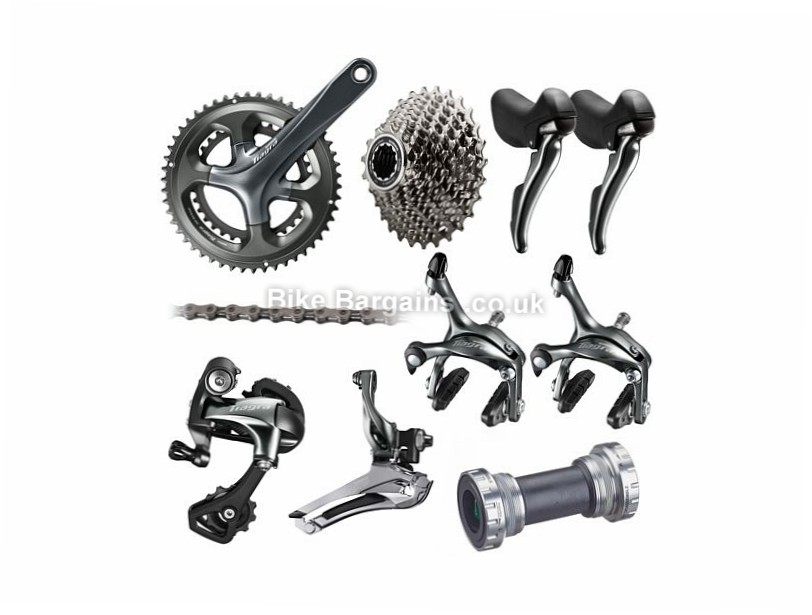 Shimano Tiagra 4700 10 Speed Road Groupset 10 Speed, Road