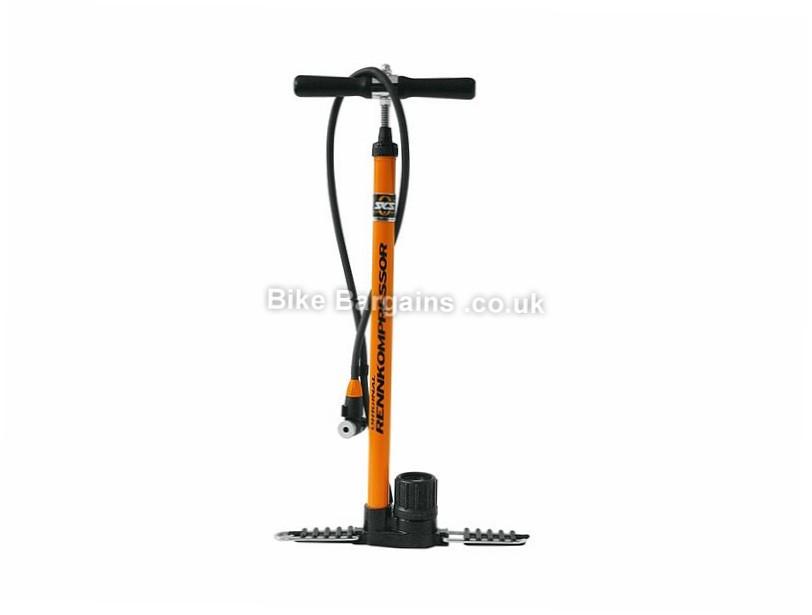 SKS Rennkompressor Track Pump Orange, 230psi, 650mm