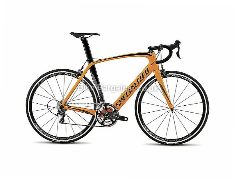 Specialized Venge Expert Carbon Caliper Road Frameset 2016 61cm, Black, Orange, Carbon, Caliper Brakes, 700c, frame, forks, headset and carbon seatpost