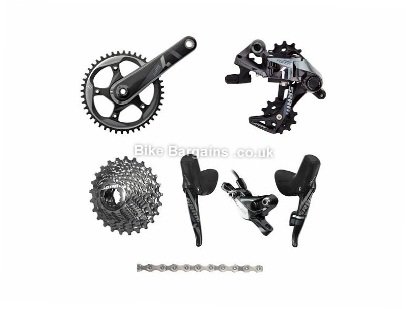 SRAM Force CX1 11 Speed Cyclocross Groupset 11 Speed, Disc Brakes, Cyclocross