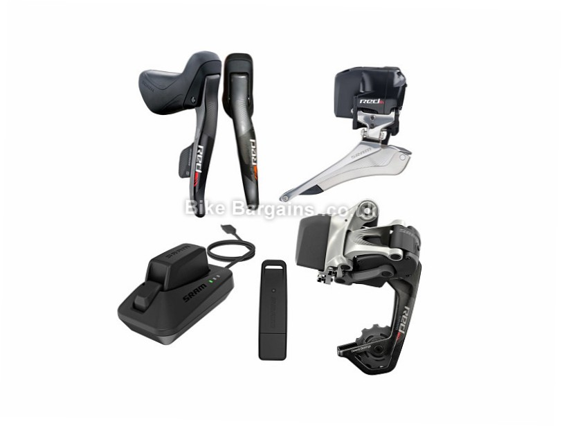 SRAM Red eTap WiFli Electronic Wireless 11 Speed Road Groupset 11 Speed, Electronic Shifting, Road