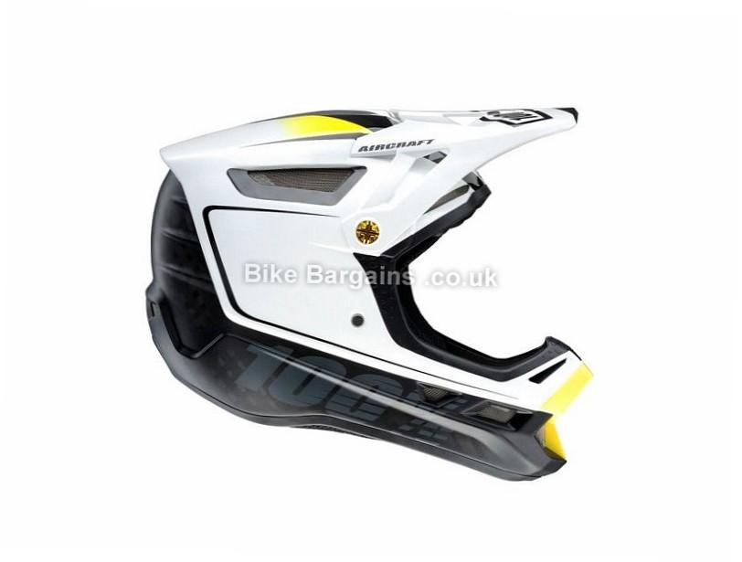 100% Aircraft DH MTB Helmet XL, White