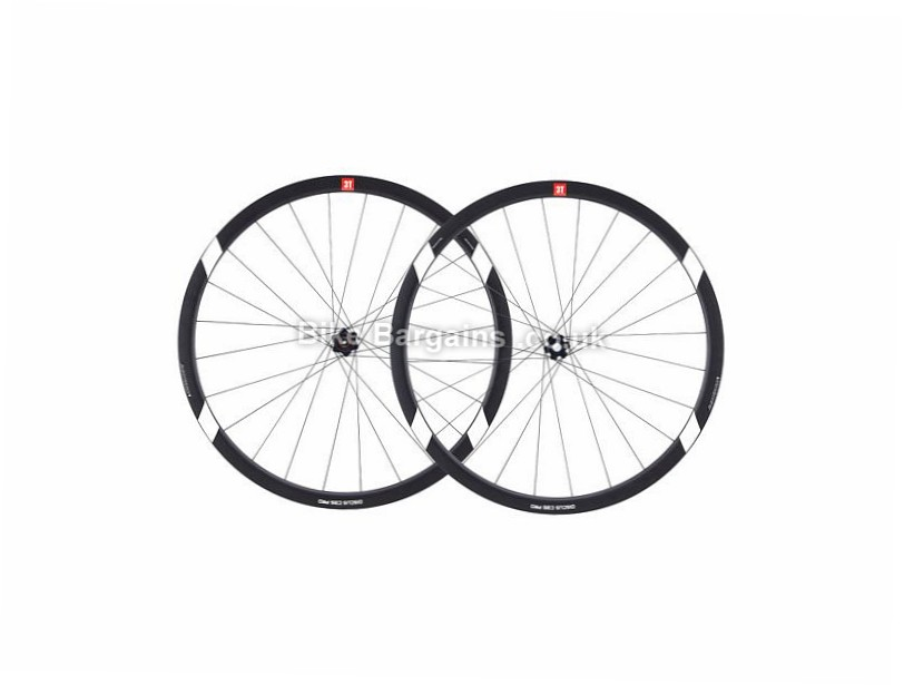 3T Discus C35 Pro Road Wheels Shimano, 700c, Black, 9/10/11 Speed