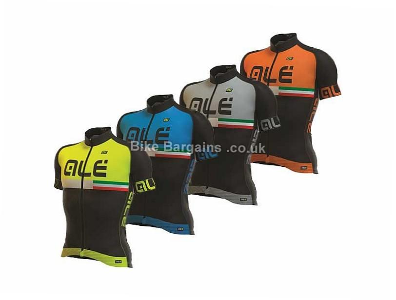 Ale Prr Circuito Ladies Short Sleeve Jersey 2017 M, Black, Yellow