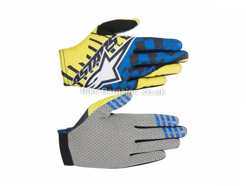Alpinestars F-Lite Speedster MTB Gloves XXL, Yellow, Blue, Orange, Red, Green