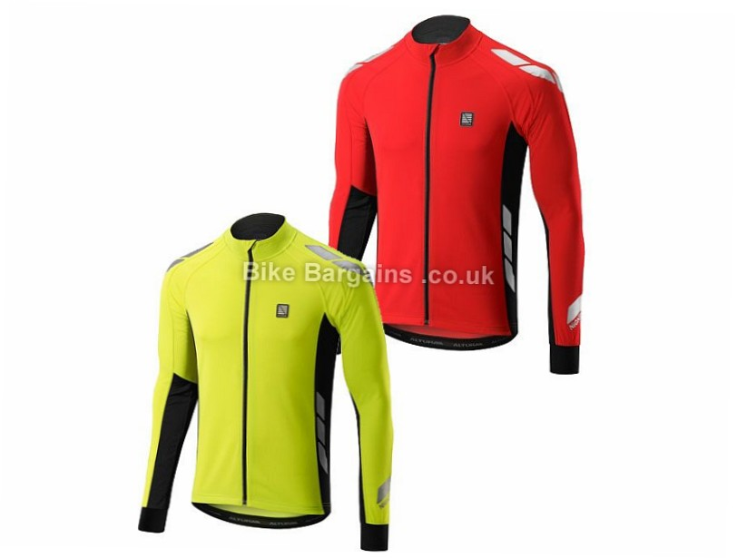 Altura Night Vision Commuter Long Sleeve Jersey 2017 Red,S,M,L,XL,XXL