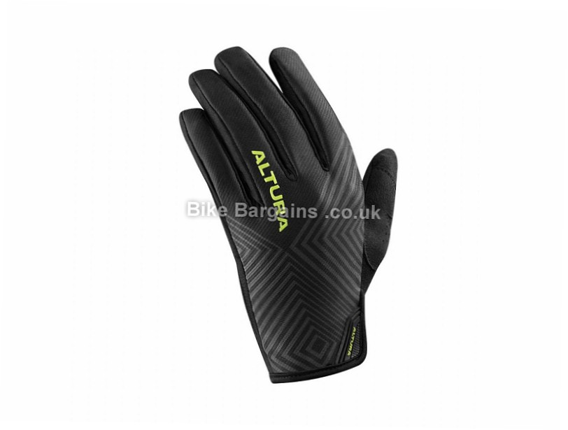 Altura Peloton 2 Progel Full Finger Gloves 2017 L, Black