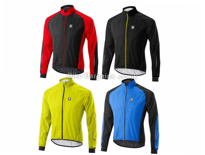 Altura Peloton Waterproof Jacket 2017 Black, Yellow, L