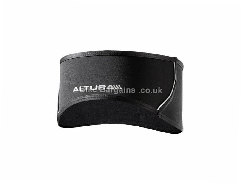 Altura Windproof Reflective Headband Black