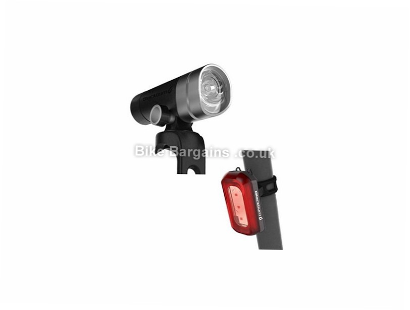 Blackburn Central 300 Front 50 Rear USB Rechargeable Light Set Black, 300 Lumens front, 50 lumens rear