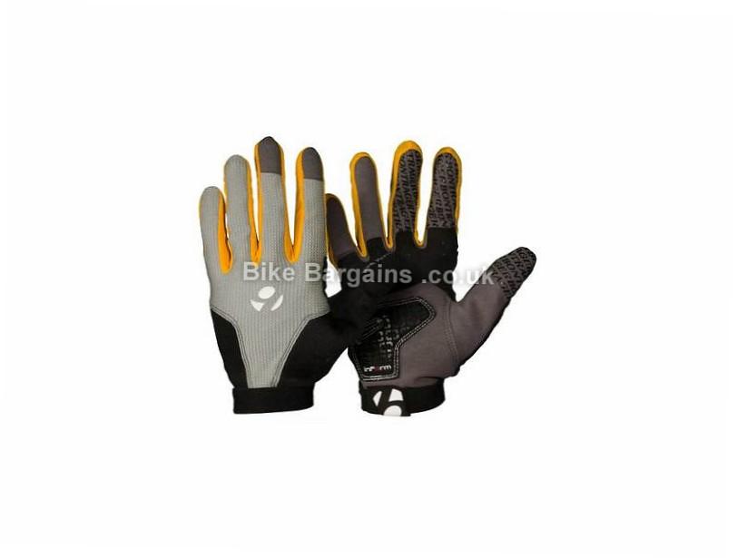 Bontrager Evoke Full Finger Gloves XL, Grey