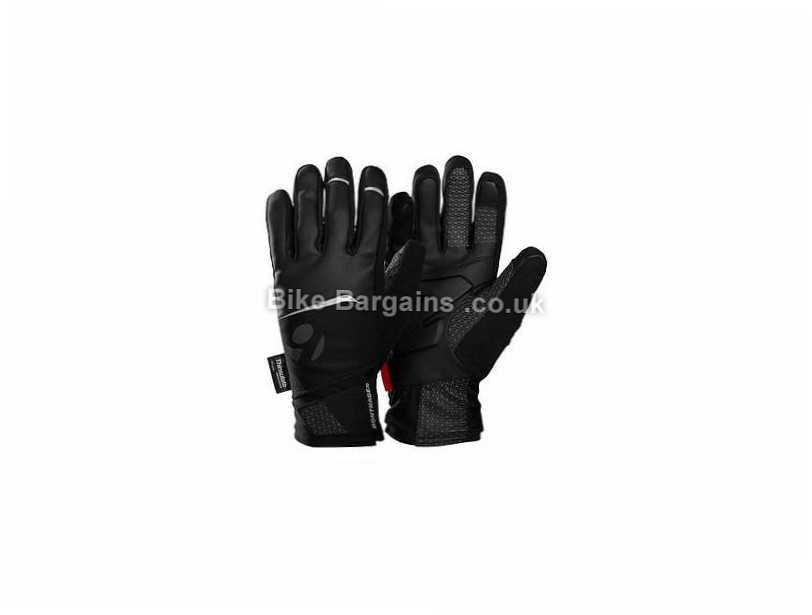 Bontrager Meraj S1 Ladies Softshell Gloves M, Black