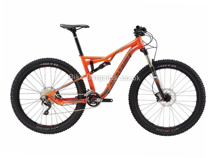 "Cannondale Bad Habit 2 27.5"" Alloy Full Suspension Mountain Bike 2017 27.5"", S, Orange"