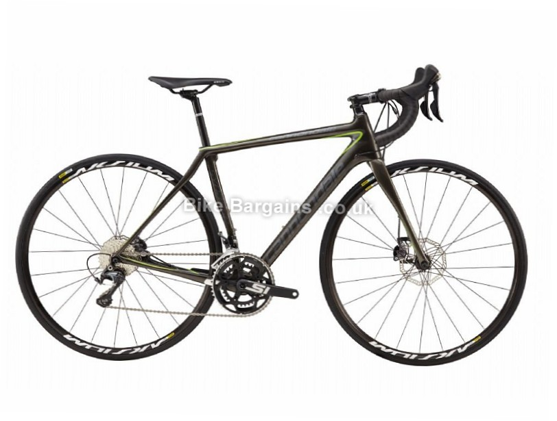 Cannondale Ladies Synapse Carbon Disc Shimano Ultegra Road Bike 2017 51cm, Black