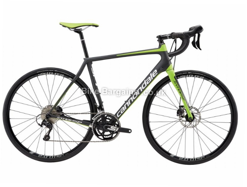 Cannondale Synapse SM Shimano 105 5 Disc Road Bike 2017 56cm, Black, Carbon, Disc, 11 speed, 700c