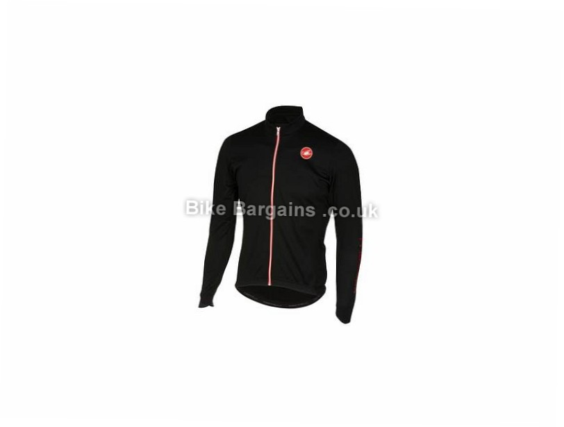 Castelli Puro 2 Long Sleeve Jersey S, Black