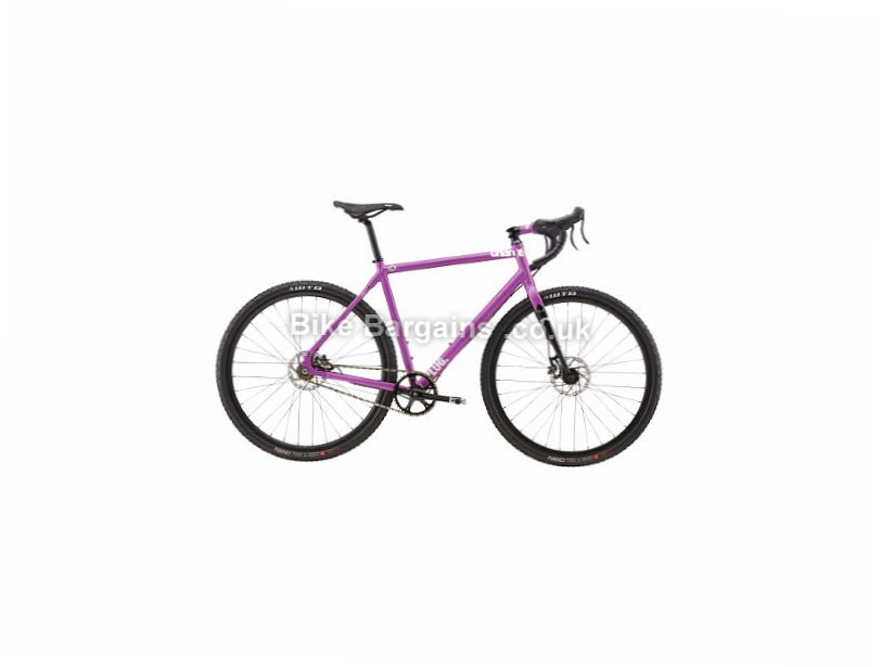 Charge Plug Grinduro Single Speed Adventure Alloy Road Bike 2017 Purple, M