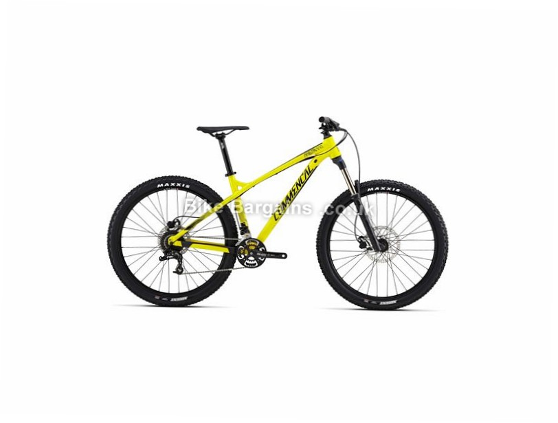 "Commencal Meta HT AM Origin Alloy Hardtail Mountain Bike 2017 27.5"", 17"", 19"", 20"", Yellow, 18 Speed, Alloy"