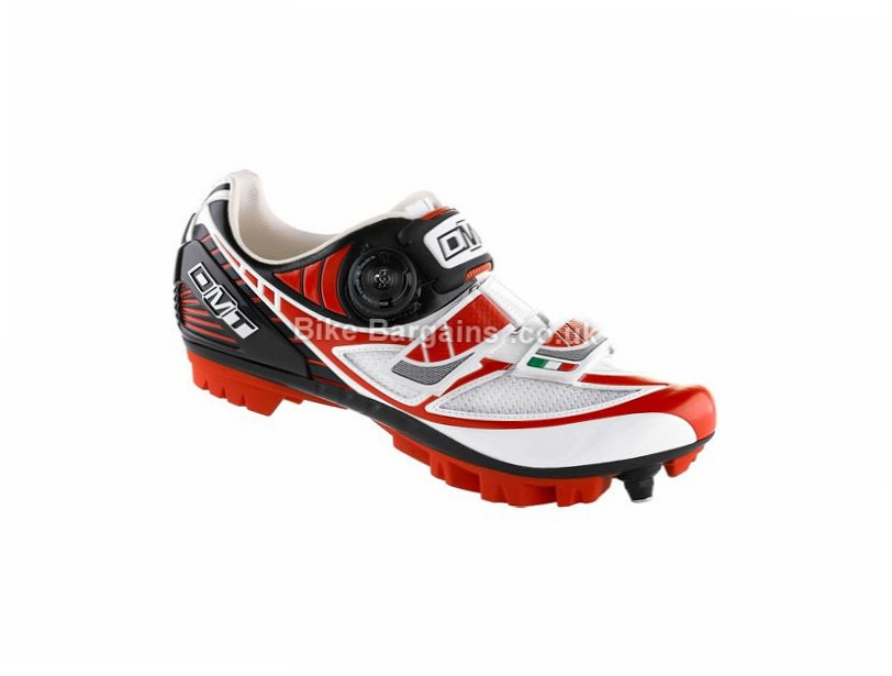 DMT Ladies Taurus MTB Shoes 42,43, White, Red