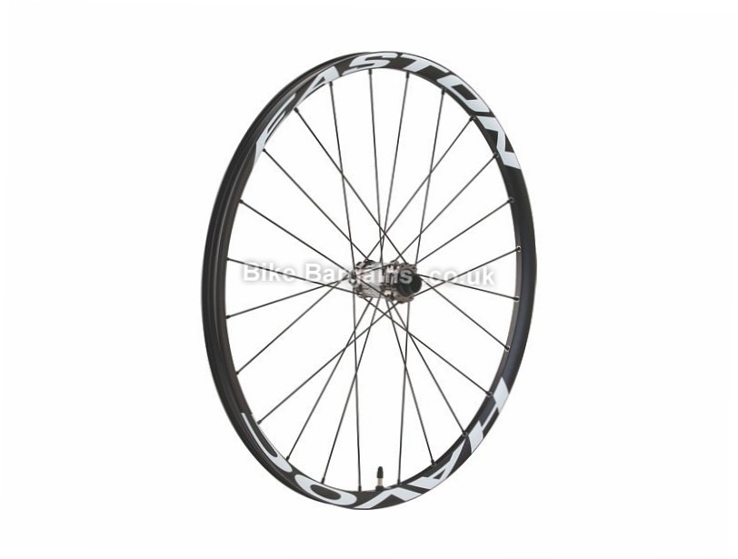"Easton Havoc MTB Front Wheel 15mm Axle, 6-Bolt, 27.5"", Black, White"