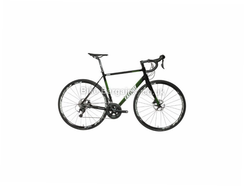 Eastway Zener AL D1 Shimano 105 Alloy Disc Road Bike 2017 Black, Green, 52cm