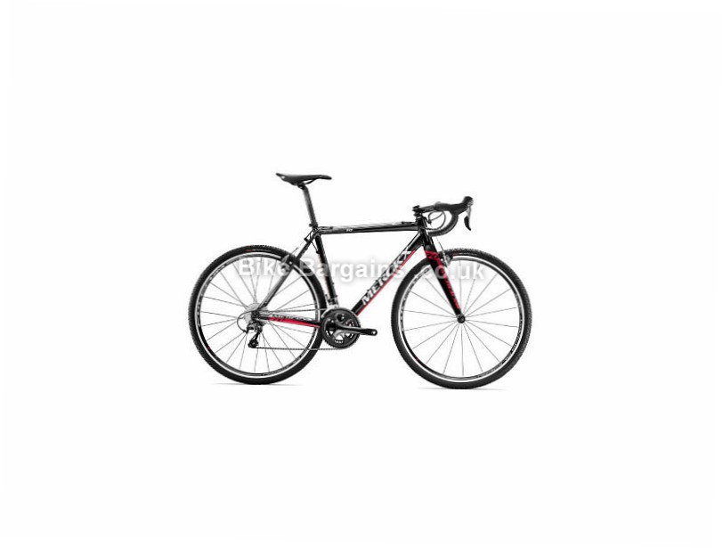 Eddy Merckx Eeklo 70 Shimano Tiagra Alloy Cyclocross Bike 2017 Black, Silver, Red, XL