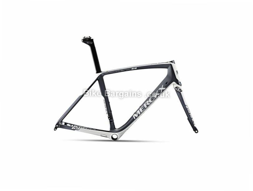 Eddy Merckx Mourenx 69 Carbon Disc Road Frame 2017 XXL, Black, Grey, Orange, White, Carbon, 1450g, Disc, 700c