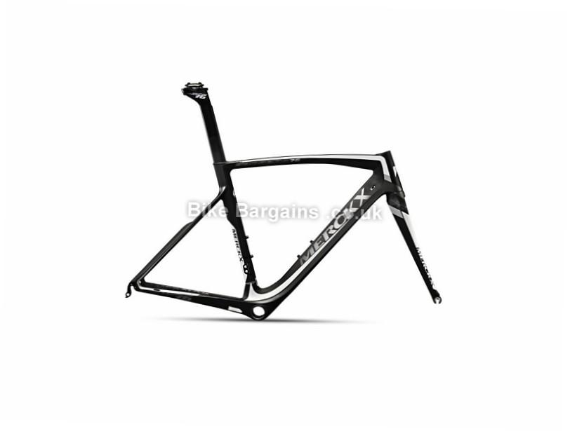 Eddy Merckx San Remo 76 Carbon Caliper Road Frame 2017 XXL, Black, Carbon, Caliper Brakes, 700c