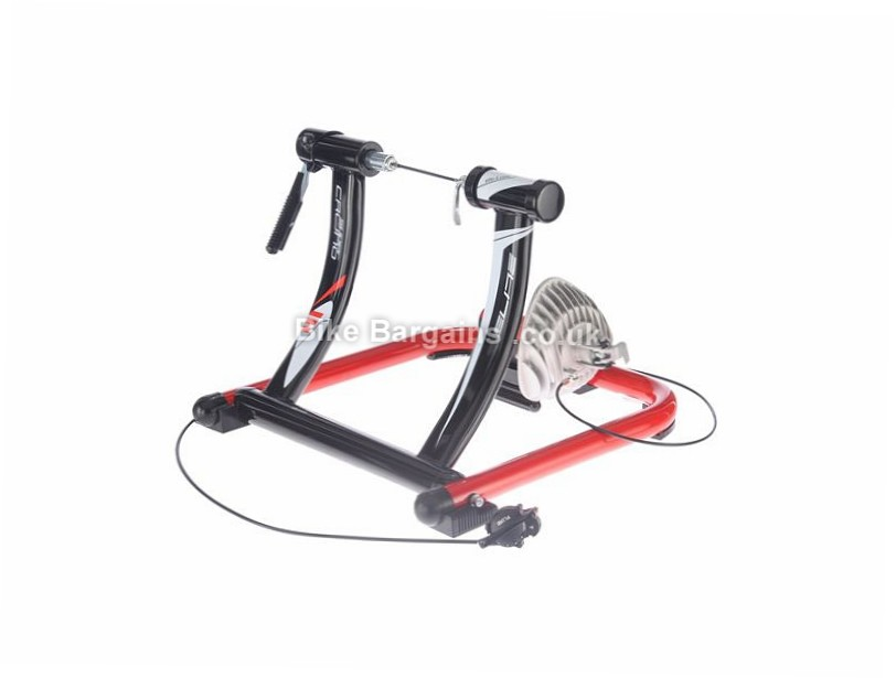 Elite SuperCrono HydroMag ElastoGel Turbo Trainer Black, Red