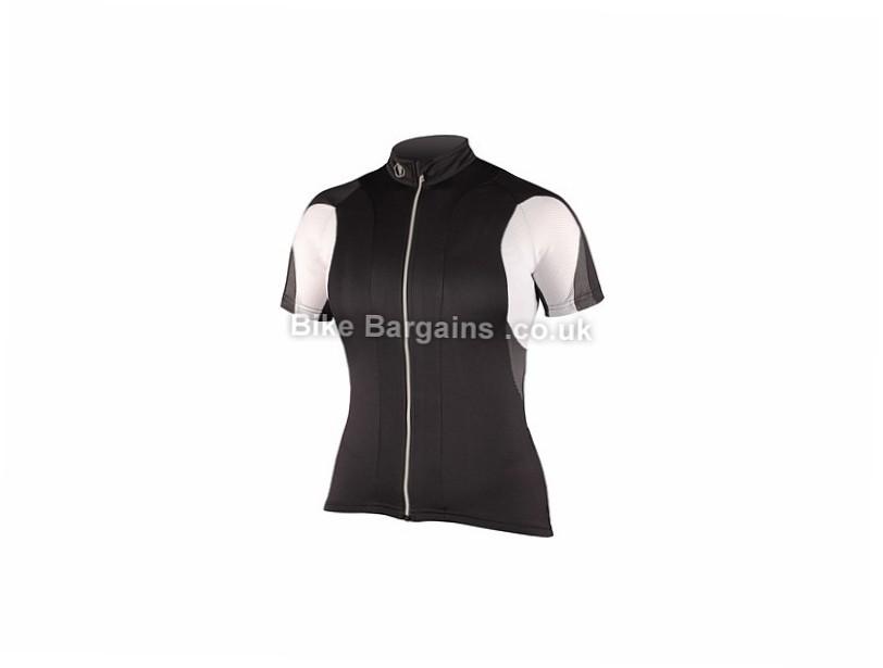 Endura FS260 Pro Ladies Short Sleeve Jersey Black, Red, White, XS,S,M,L,XL