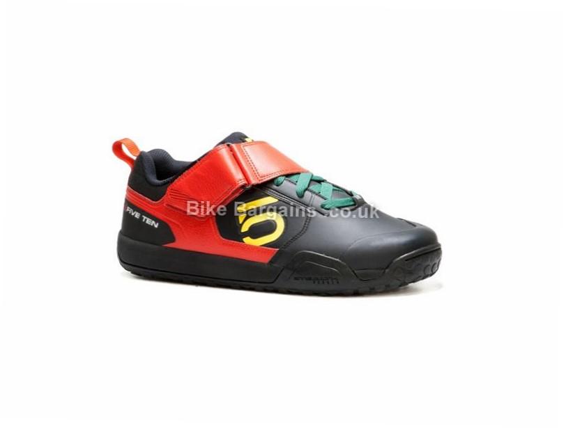 Five Ten Minnaar Impact VXi MTB Shoes 37, Red, Green, Yellow