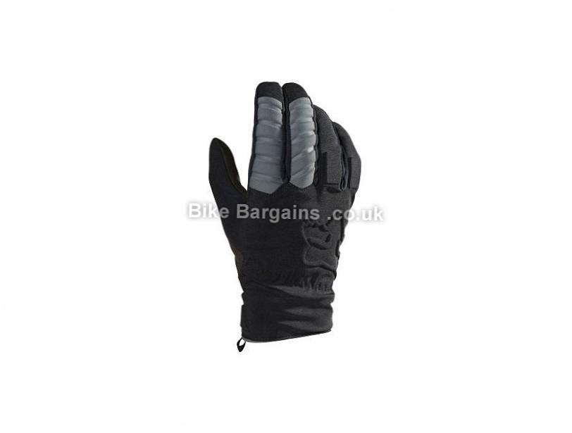 Fox Forge CW Full Finger Gloves 2016 S,L,XXL, Black, Full Finger
