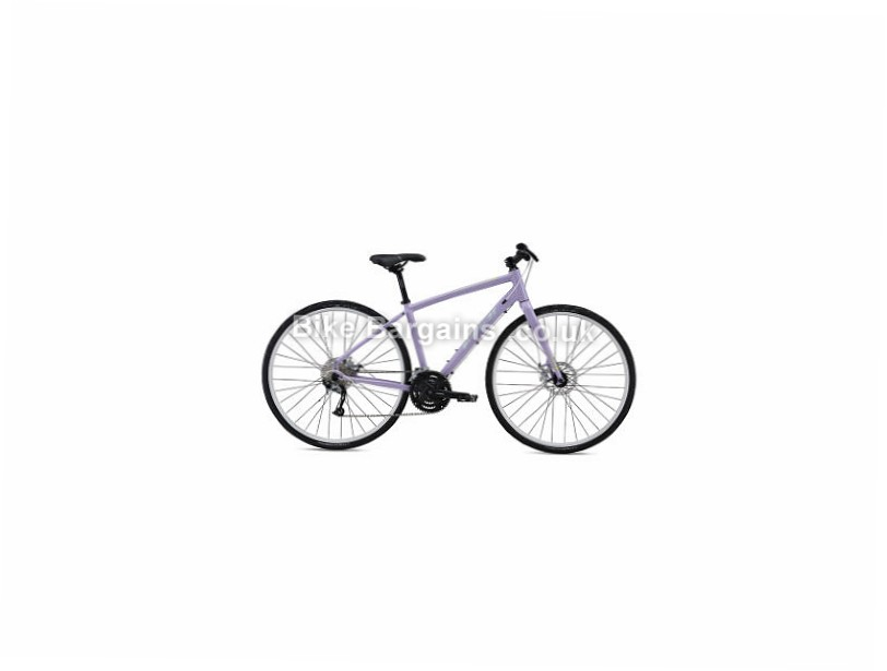 "Fuji Silhouette 1.7 Alloy Hybrid City Bike 2016 Purple, 19"""