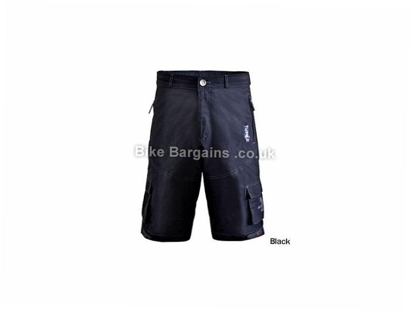 Funkier Camba Lined Baggy MTB Shorts S, XXL, Yellow, Brown